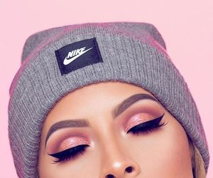 nike, makeup, and beauty image