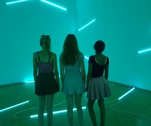 girls, goals, and museum image