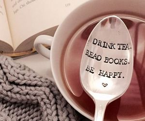 happiness, books, and happy image