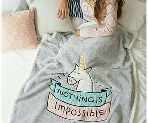 unicorn and blanket image