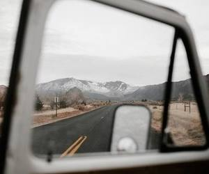 grunge, road, and trip image
