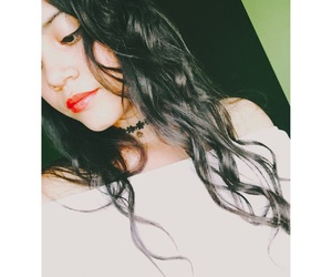 curly, in love, and lips image