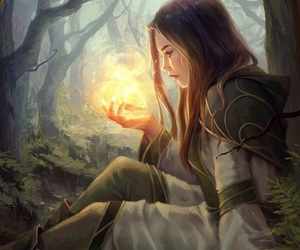 magic, fantasy, and art image