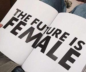 female, feminism, and quotes image