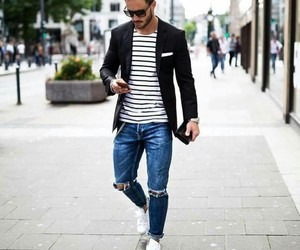 guy, jeans, and men image