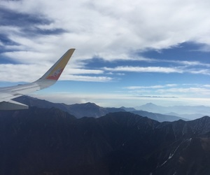 blue, bhutan, and clouds image