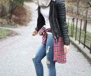 blondie, boots, and chaqueta de cuero image