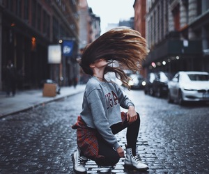 girl, fashion, and hair image