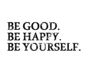 quote, happy, and good image