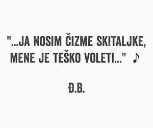 moto, citat, and balašević image