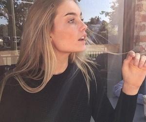 beautiful girl, makeup, and cute image