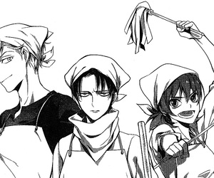 levi and snk image