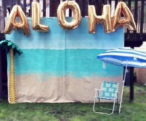 Aloha, verão, and festa image