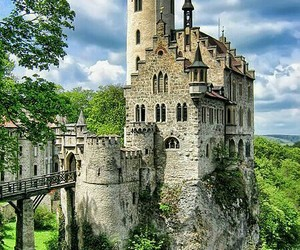 castle, home, and princess image