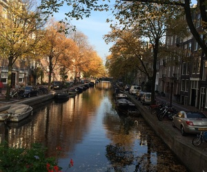 amsterdam, travel, and boat image