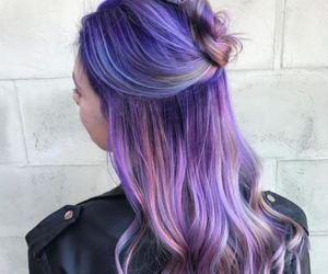 colored hair, fashion, and hair image