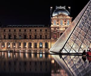 louvre, paris, and france image