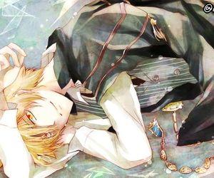 katekyo hitman reborn, anime, and anime boy image