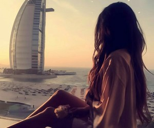 girl and Dubai image