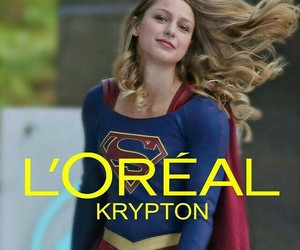 Supergirl, hair, and loreal image