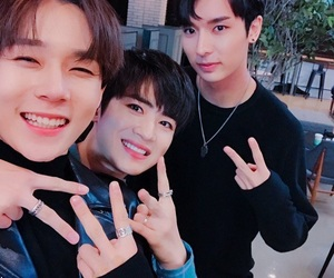 pentagon, yuto, and edawn image