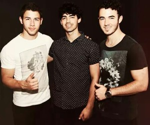 joe, kevin, and jonas brothers image