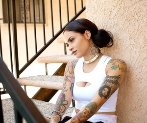 kehlani, tattoo, and you should be here image