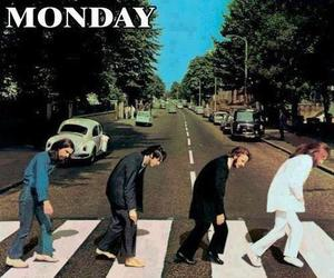 monday, the beatles, and beatles image