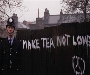 london, peace, and tea image