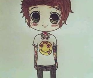 bmth, oliver sykes, and drawing image