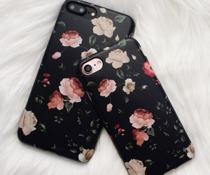 cases, flowers, and girly image
