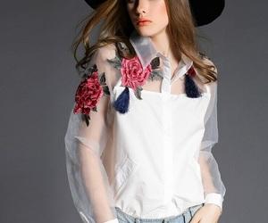 fashion, vintage, and rose image