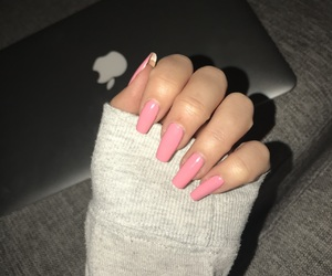 girl, inspiration, and nails image