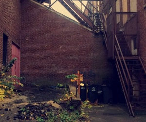 aesthetic, brick, and plants image