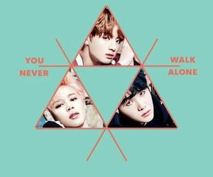 bts, you never walk alone, and yoongi image