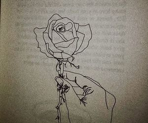 draw, magic, and roses image