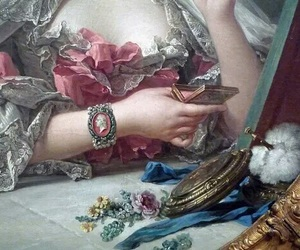 painting, art, and rococo image