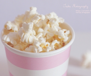 pastel, popcorn, and cute image