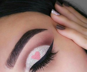 eye, luxury, and glitter image