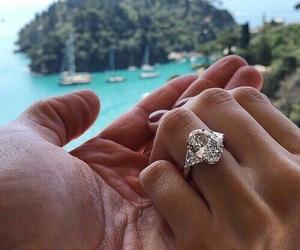 ring, couple, and diamond image
