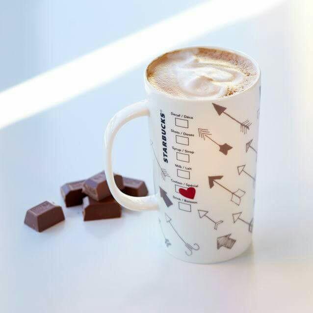 arrow, chocolate, and coffee image