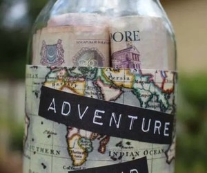 adventure, travel, and money image