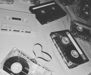 cassette, hart, and music image