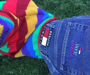 aesthetic, tumblr, and tommy hilfiger image