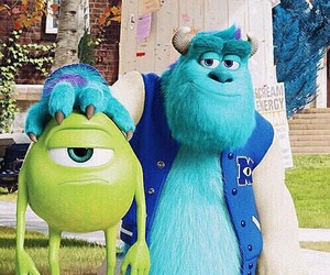 mike, monsters inc, and disney image