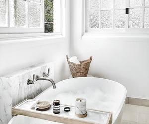 bathroom, white, and interior image