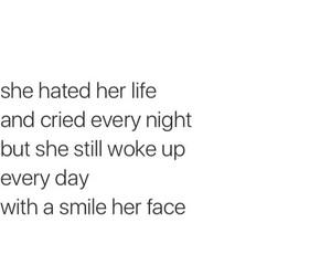 cry, alone, and sad image