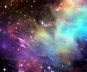 art, colors, and space image