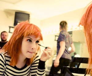 hayley williams, paramore, and make up image