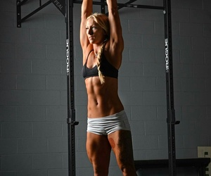 fitness, gym, and crossfit image